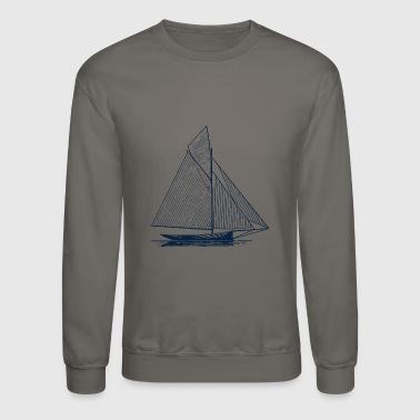 Sailboat - Crewneck Sweatshirt