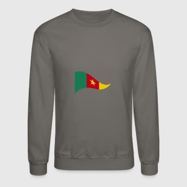Cameroon Africa Flag Banner Flags Ensigns - Crewneck Sweatshirt