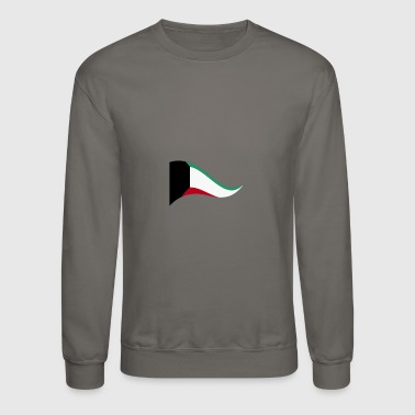 Kuwait City Kuwait Africa Flag Banner Flags Ensigns - Crewneck Sweatshirt