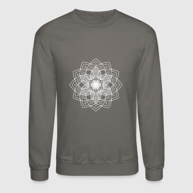 Mandala Mantra Illustration Tattoo Handgezeichnet - Crewneck Sweatshirt