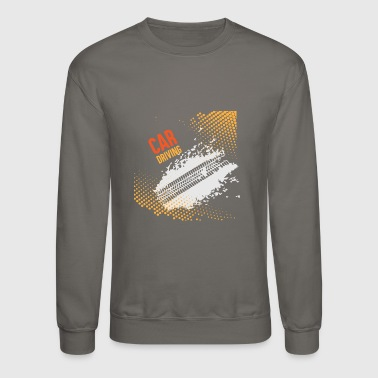 GIFT - CAR DRIVING - Crewneck Sweatshirt