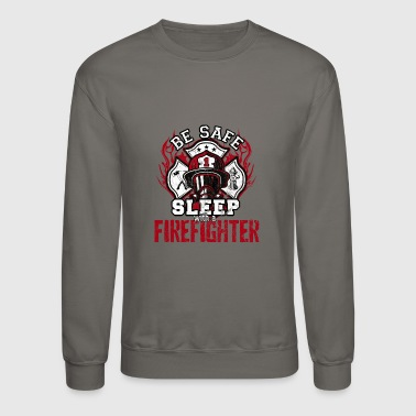 Firefighter Burn Firefighting Fire Department Gift - Crewneck Sweatshirt