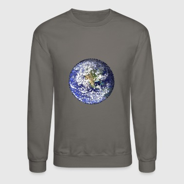 leaves earth - Crewneck Sweatshirt