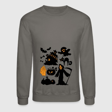 Set Of Halloween - Crewneck Sweatshirt