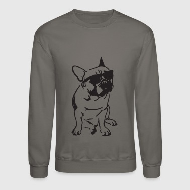 French Bulldog French Bulldog Attitude - Crewneck Sweatshirt