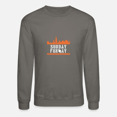 Sunday Fun Day Sunday Fun Day - Crewneck Sweatshirt