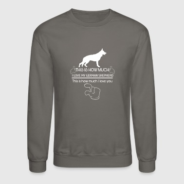 German Cool German Shepherd designs - Crewneck Sweatshirt