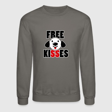 Free Kisses T Shirt - Crewneck Sweatshirt