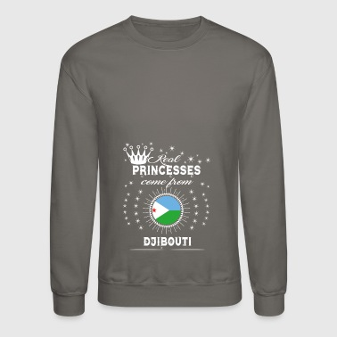 queen love princesses DJIBOUTI - Crewneck Sweatshirt