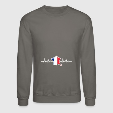France french flag - Crewneck Sweatshirt