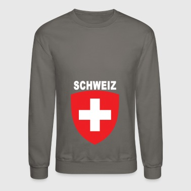 Switzerland Schweiz Emblem in German - Crewneck Sweatshirt