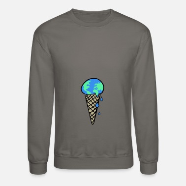 Change Global Warming & Climate Change - Crewneck Sweatshirt