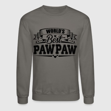 Best World's Best Pawpaw Shirt - Crewneck Sweatshirt