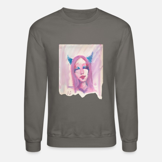 Serenity Hoodies & Sweatshirts - Beauty in Bliss by Jessica J - Unisex Crewneck Sweatshirt asphalt gray