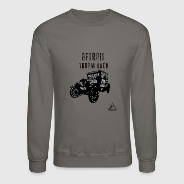 DETROIT THROWBACK - Crewneck Sweatshirt