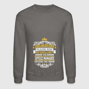 OFFICE MANAGER - Crewneck Sweatshirt