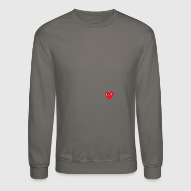 Heart Eyes eye Heart - Crewneck Sweatshirt