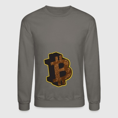 Anarchism Bitcoin Bitcoins Rothbard Anarchy Anarchism A - Crewneck Sweatshirt