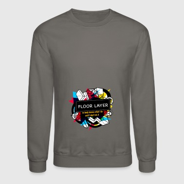 FLOOR LAYER - Crewneck Sweatshirt
