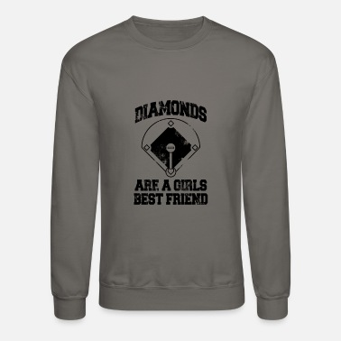 Friend diamonds are a girls best friend - Crewneck Sweatshirt