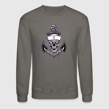 Anchor Skull - Crewneck Sweatshirt