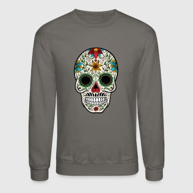 Sugar Skull - Day of the - Crewneck Sweatshirt