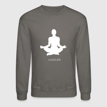 Wrong Juggler Meditation - Crewneck Sweatshirt