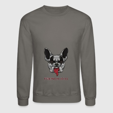 French Kiss - Crewneck Sweatshirt