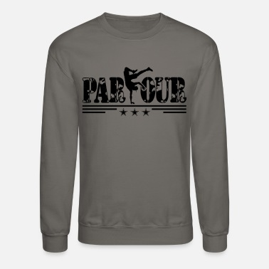 Freerunning I Can Parkour And Freerunning Tee Shirt - Crewneck Sweatshirt