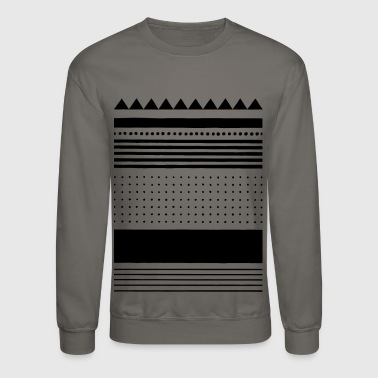 Shape pattern - Crewneck Sweatshirt