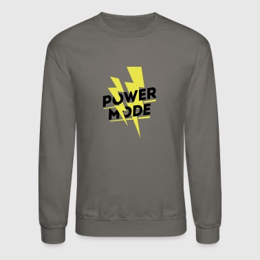 Power Mode - Gym wear - Crewneck Sweatshirt