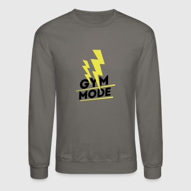 Gym Mode, gym wear - Crewneck Sweatshirt