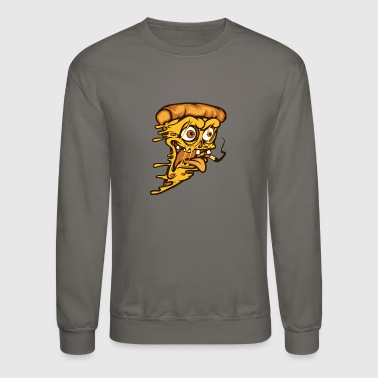 Zombie Pizza - Crewneck Sweatshirt