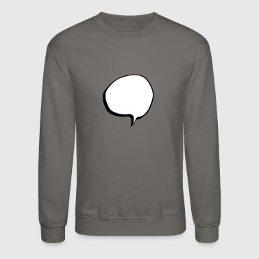 speech balloon - Crewneck Sweatshirt