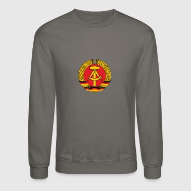 National Coat Of Arms Of East Germany - Crewneck Sweatshirt