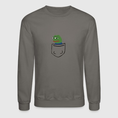 Pepe tiny pocket pepe - Crewneck Sweatshirt