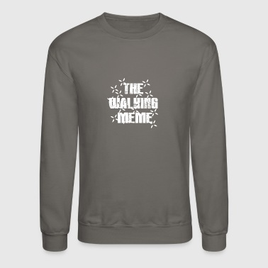 The walking meme cod Crosshair - Crewneck Sweatshirt