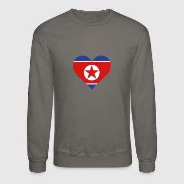 A Heart For North Korea - Crewneck Sweatshirt