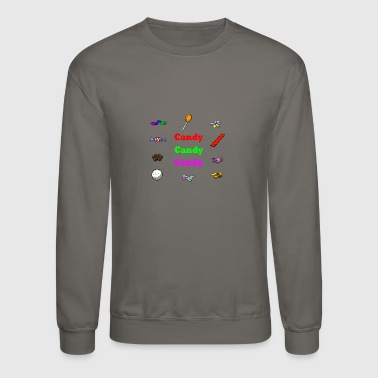 Candy candy candy candy - Crewneck Sweatshirt