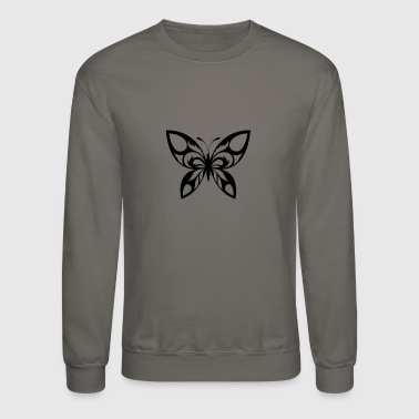 Insect butterf 105 - Crewneck Sweatshirt