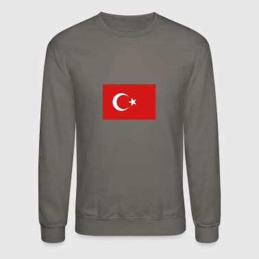 National Flag Of Turkey - Crewneck Sweatshirt