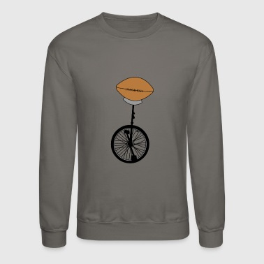Unicycle Football - Crewneck Sweatshirt