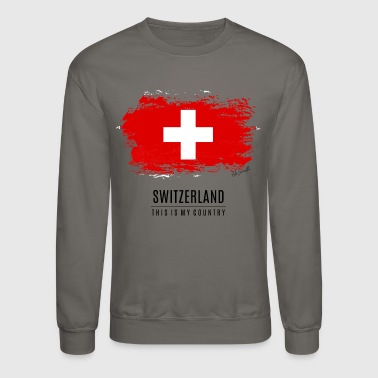 SWITZERLAND FLAG - Crewneck Sweatshirt