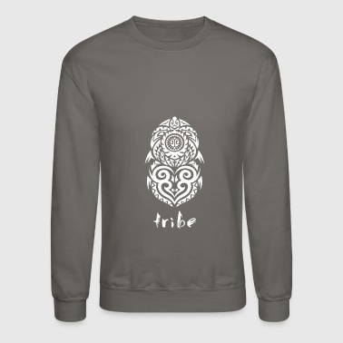 Tribe (Hawaii in White) - Crewneck Sweatshirt