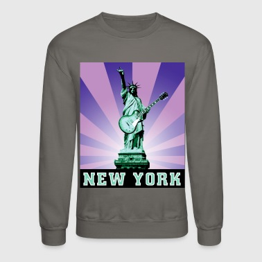 Statue of Liberty Rocks - Crewneck Sweatshirt