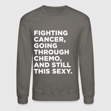Breast Cancer Awareness Cancer Fighter Quote - Crewneck Sweatshirt