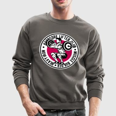 weight lifting - Crewneck Sweatshirt