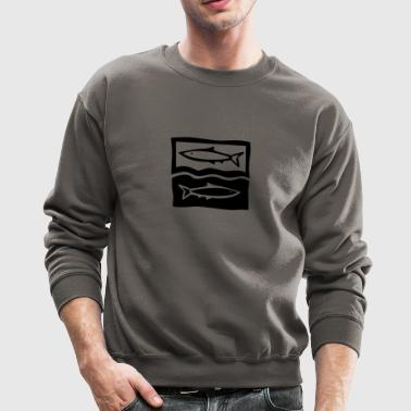 pisces / fishes / zodiac - Crewneck Sweatshirt