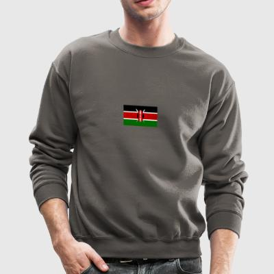 kenyan flag graphic - Crewneck Sweatshirt