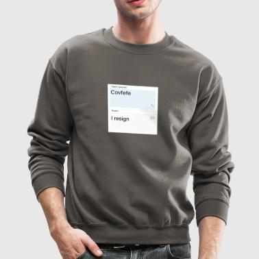 Covfefe translated to russian - Crewneck Sweatshirt